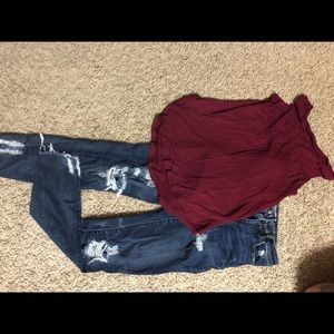 Cute like new American eagle jeans